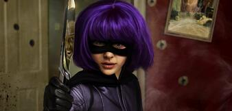 Chloë Grace Moretz als Hit-Girl