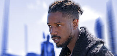Michael B. Jordan in Black Panther