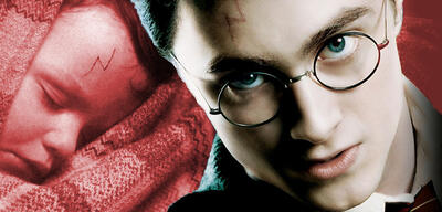 Ist Harry Potters Narbe wirklich ein Blitz?
