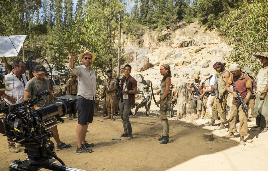 Tomb Raider mit Alicia Vikander, Daniel Wu und Roar Uthaug