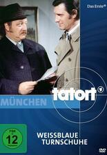 Tatort: Weißblaue Turnschuhe