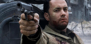 Tom Hanks in Der Soldat James Ryan