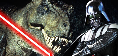 Deathmatch Star Wars vs. Jurassic World