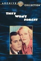 They Won't Forget - Poster