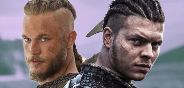 Ragnar und Sohn Ivar in Vikings