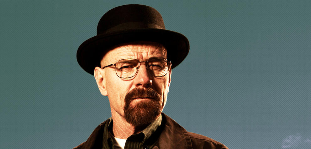 Bryan Cranston als Walter White in Breaking Bad