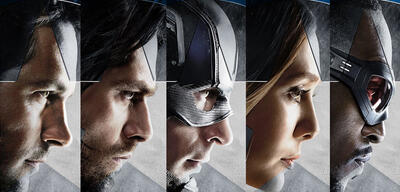 Team Cap: Captain America - Civil War