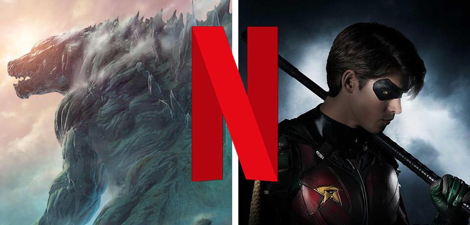 Godzilla und Titans