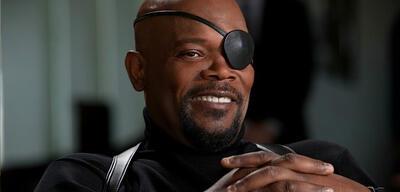 Nicht der Marvel-Präsident: Samuel L. Jackson