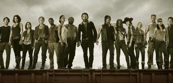 Bild zu:  Der Cast von The Walking Dead