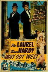 Dick und Doof im Wilden Westen - Poster