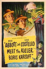 Abbott and Costello Meet the Killer, Boris Karloff - Poster