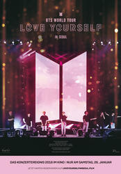 BTS World Tour: Love Yourself - in Seoul Poster