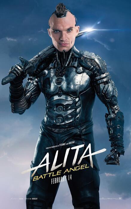 Alita: Battle Angel mit Ed Skrein