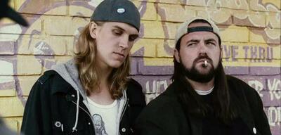 Kevin Smith (rechts) als Silent Bob