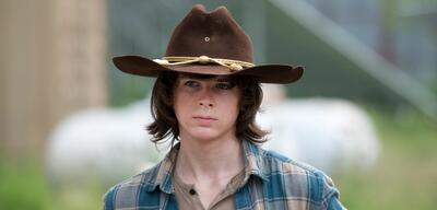 The Walking Dead mit Chandler Riggs als Carl Grimes