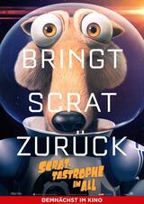 Scrat-tastrophe im All - Poster
