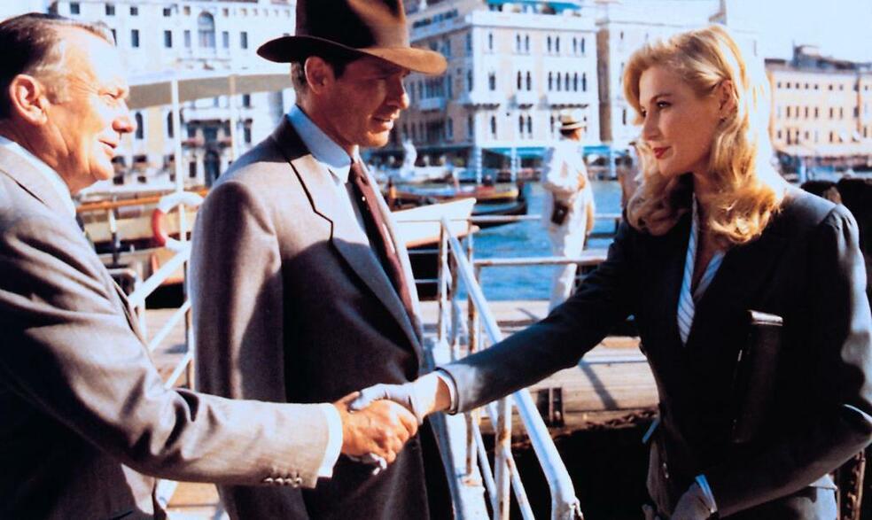 Indiana Jones und der letzte Kreuzzug mit Harrison Ford, Denholm Elliott und Alison Doody