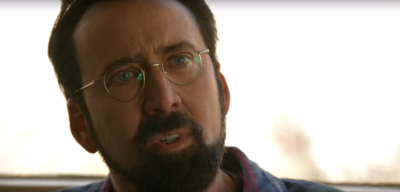 Nicolas Cage in Looking Glass