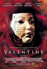 Valentine - Schrei wenn Du kannst Poster