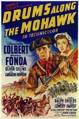 Trommeln am Mohawk - Poster