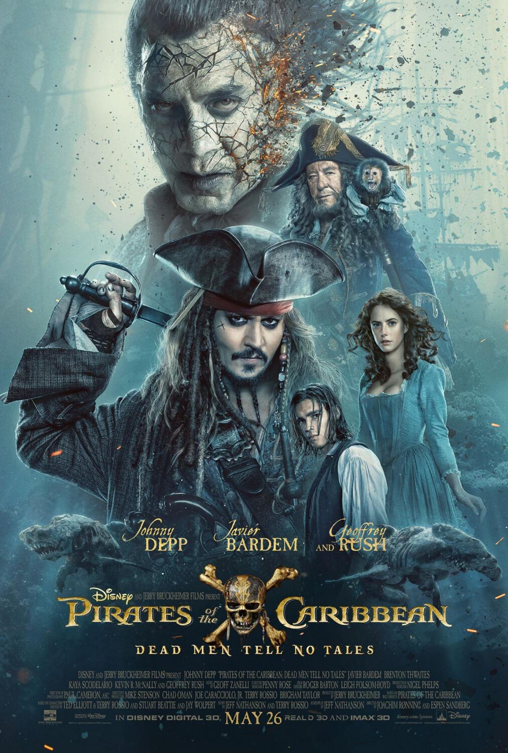 Pirates Of The Caribbean 5 Salazars Rache Stream