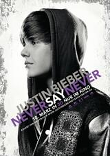 Justin Bieber 3D - Never say never - Poster