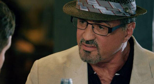 """Sylvester Stallone in """"Reach Me - Stop at Nothing"""""""