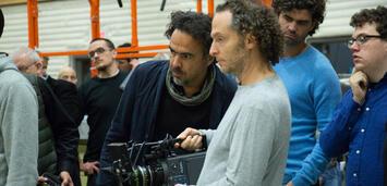 Bild zu:  Alejandro González Iñárritu am Set von Birdman