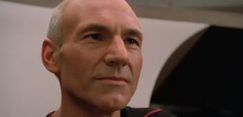 Bild zu:  Blickt in die Zukunft: Patrick Stewart als Captain Picard
