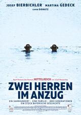 Zwei Herren im Anzug - Poster
