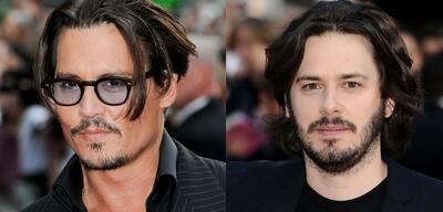 Johnny Depp und Edgar Wright
