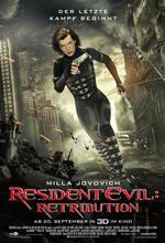 Resident Evil 5: Retribution Poster