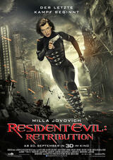 Resident Evil 5: Retribution - Poster