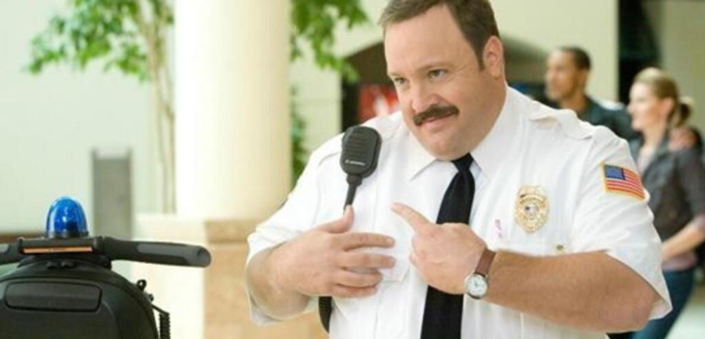 Kevin James bereitet sich auf Der Kaufhaus Cop 2 vor