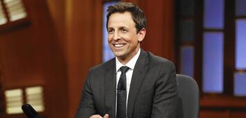 Bild zu:  Seth Meyers bei Late Night with Seth Meyers