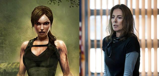 Lara Croft & Kathryn Bigelow