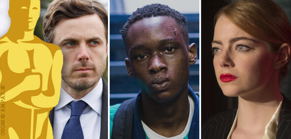 Oscar 2017: Manchester by the Sea, Moonlight, La La Land
