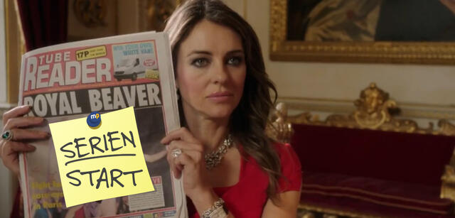 The Royals mit Elizabeth Hurley