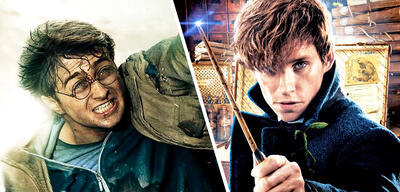 Harry Potter und Newt Scamander