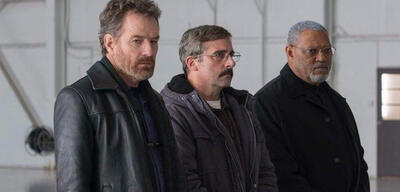 Last Flag Flying: Bryan Cranston, Steve Carell und Laurence Fishburne