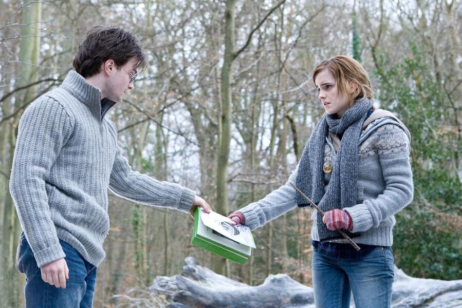 Harry Potter und die Heiligtümer des Todes 1 mit Emma Watson und Daniel Radcliffe