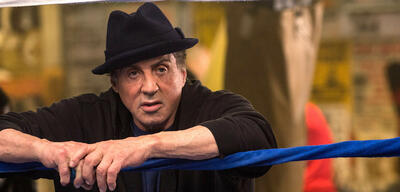 Sylvester Stallone als Rocky Balboa in Creed