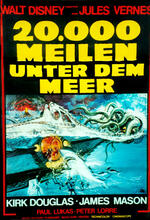 20.000 Meilen unter dem Meer Poster