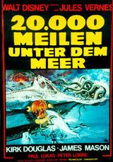 20.000 Meilen unter dem Meer - Poster