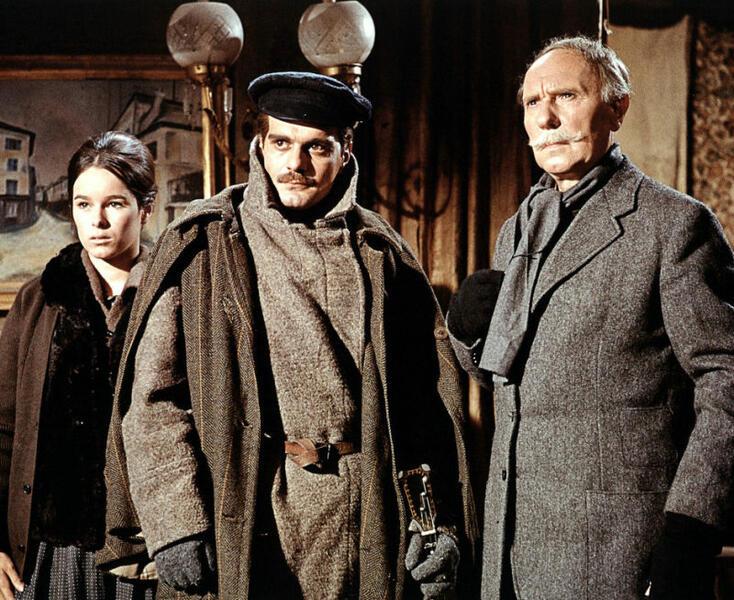 Doktor Schiwago mit Omar Sharif und Geraldine Chaplin