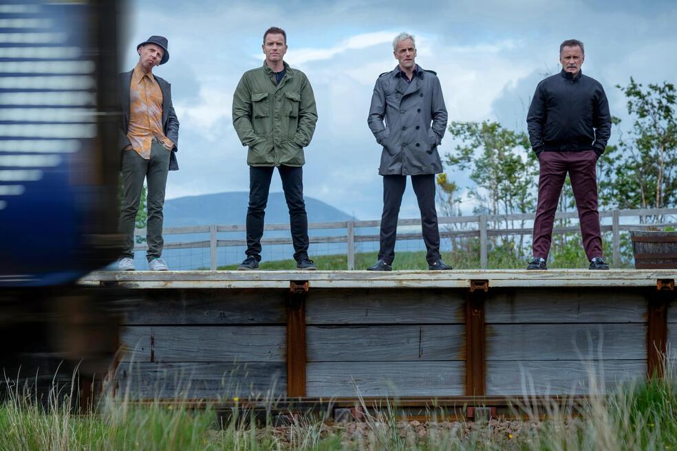 Trainspotting 2 mit Ewan McGregor, Robert Carlyle, Jonny Lee Miller und Ewen Bremner