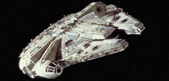 Der Millennium Falcon in Die Rückkehr der Jedi-Ritter