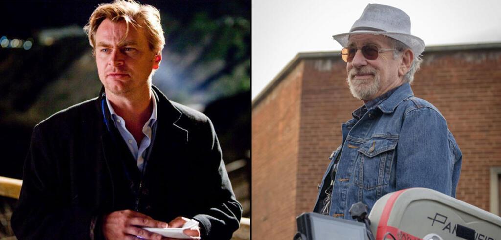 Christopher Nolan und Steven Spielberg