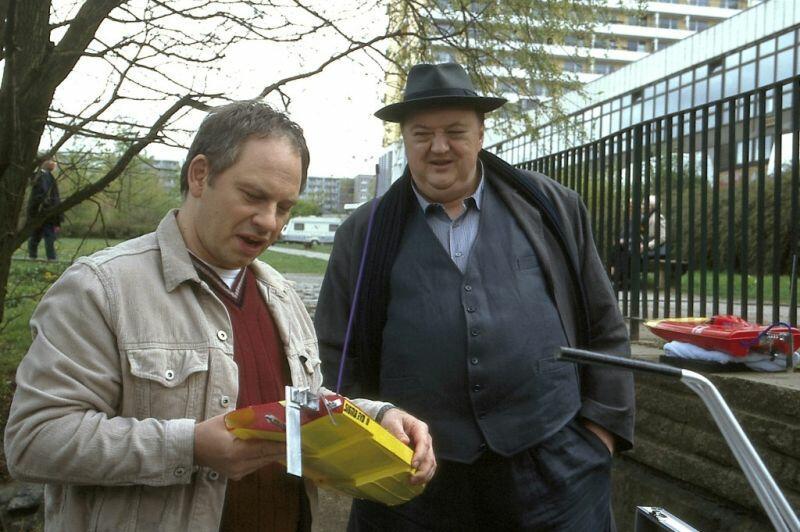Sperling und der Mann im Abseits mit Dieter Pfaff und Michael Lott